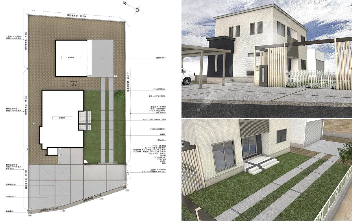 PRODEA 平面図 3D CAD イメージ